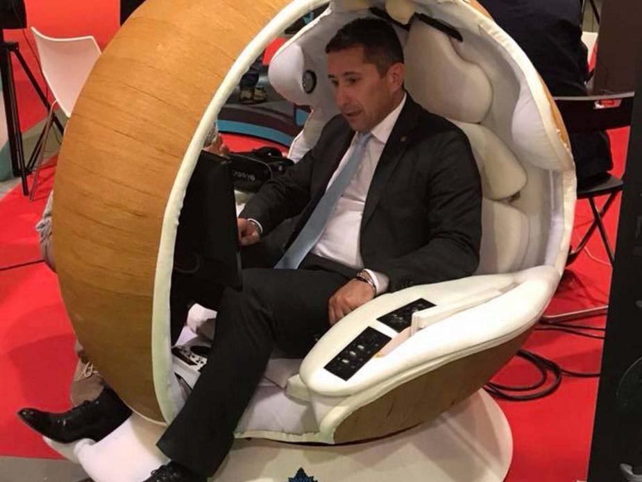 7_Embryo Smart Pod e Gianluca Forcolin allo Smau Milano 2017